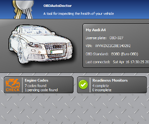 OBD Auto Doctor for Desktop screenshot